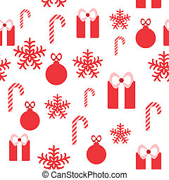 Seamless pattern for Christmas design