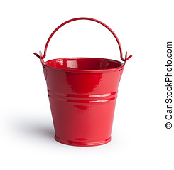 Bucket Isolated with clipping path
