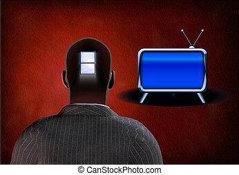 Viewers Mind - Window in mans mi