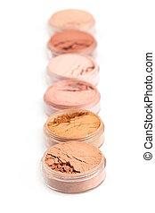Face powder colors