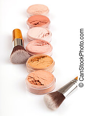 Face powder colors