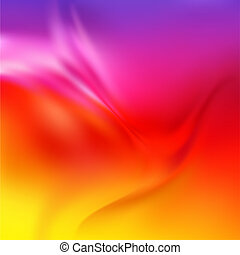 Abstract Vector Texture, Red Silk