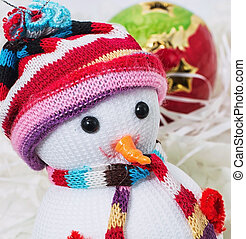 Christmas snowmans - Christmas decoration and toy during...