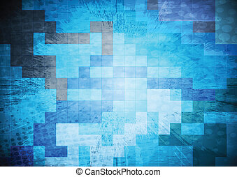 Bright grunge vector background