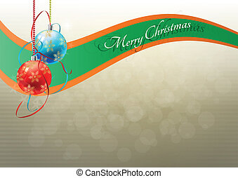 merry christmas - illustration of merry christmas text with...