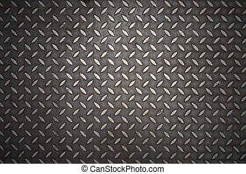 Seamless steel diamond plate
