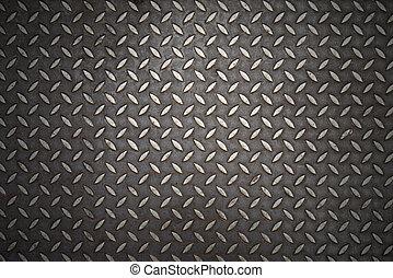 Seamless steel diamond plate