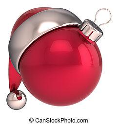 Christmas ball New Year Santa icon