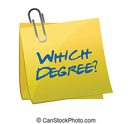 which degree post question illustration design