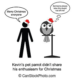 Merry Christmas - Kevin just loved Christmas cartoon...