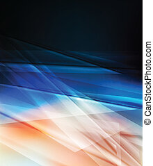 Abstract blue vector background neon