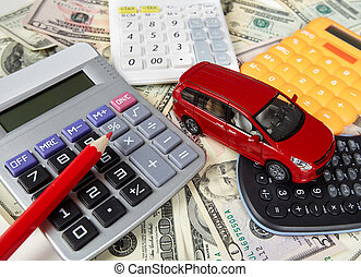 Car money and calculator Payments and costs