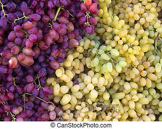 Grapes at the market