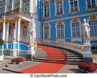 Catherine Palace in Saint Petersburg - Catherine Palace...