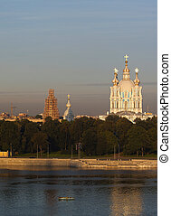 Smolny Cathedral in Saint Petersburg - View of Smolny...