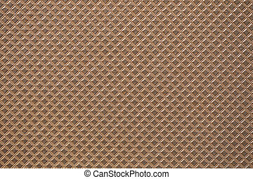 Brown rectangle abstract texture, close up view