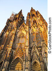 Cathedral of Cologne - The Cathedral of Cologne in Germany