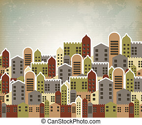 urban style over  vintage background vector illustration