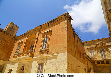 Historic Architecture in Mdina - Historic Architecture in...