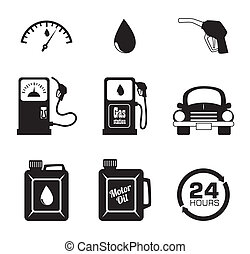 oil industry - oil industry over white background vector...