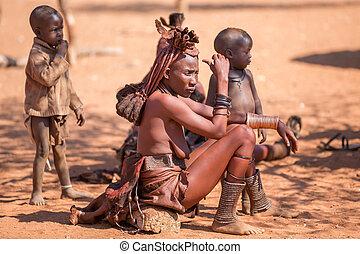 Himba, Femmes