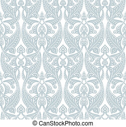Art Nouveau Background - Illustration of an intricate...
