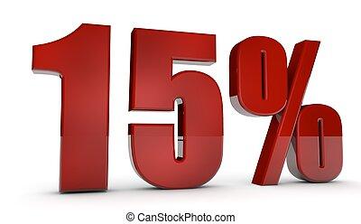 percent,15