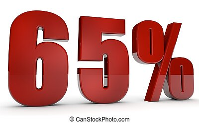 percent,65