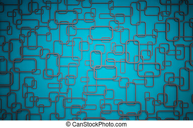 Wall panels used as background - Wall panels blue gray color...