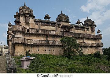 Jahangir Mahal in Orchha - Jahangir Mahal, important...