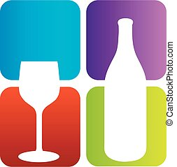 Logo for wine and spirits business