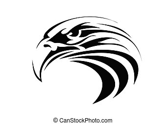 eagle tattoo - very big size tribal eagle tattoo...