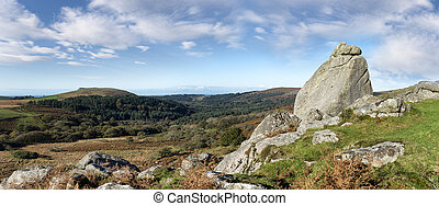 Dartmoor National Park - Looking towards Burrator from the...