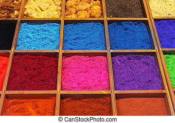 Pigments - Pigment powder and shellac for artists