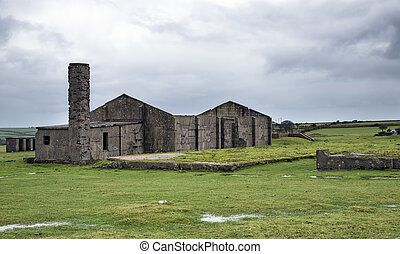 Derelict Buildings - Abandoned WWII airbase at Davidstow...