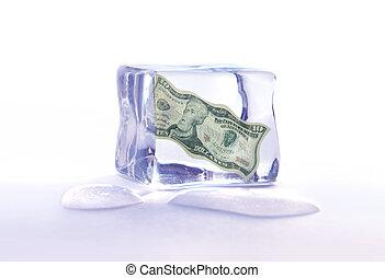 Frozen dollar assets