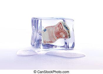 Frozen euro assets