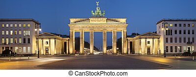 Brandenburg Gate. - Image of Brandenburg Gate in Berlin,...