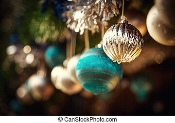 Oldfashioned Christmas decorations