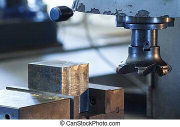 Cutters of CNC milling machine