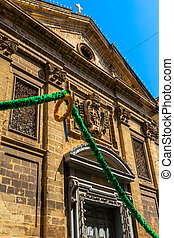 St Francis Church - St Francis church facade in republic...