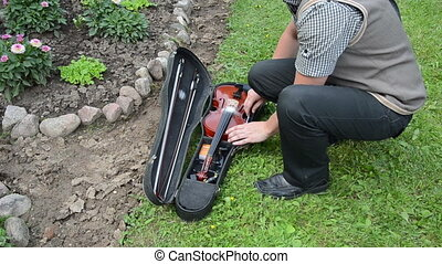 musician violin box