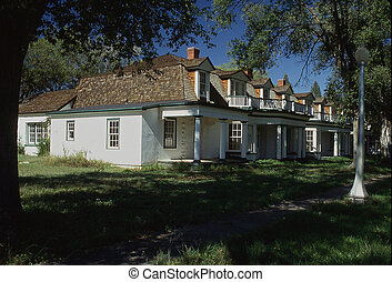 Fort Stanton - Established in May 1855 to protect settlers...