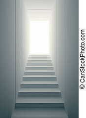 way to freedom - staircase lead to the freedom
