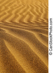 sand - closeup of sand with a wavy pattern because the wind