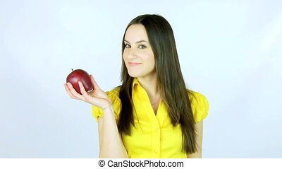 The best way to be healthy - One apple a day takes the...