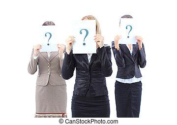 グループ, ビジネス, 女性