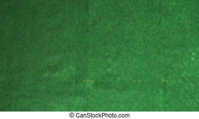 Cards on the green cloth