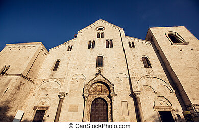 The Basilica of Saint Nicholas,in Bari, Italy - The Basilica...