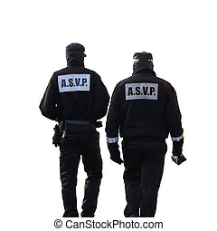 Security guard - Details of two security guards who is...